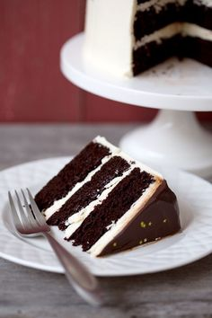 "Bored with the same old chocolate cake?  How about a blackberry red wine chocolate cake instead?  Check out this fabulous recipe and browse Love & Olive Oil for more ways to take ""same old, same old's"" to a whole new level!"