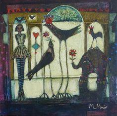 The Birthday Girl - Morag Muir Girl Birthday, Sculpture, Gallery, Artist, Painting, Roof Rack, Artists, Painting Art, Sculptures