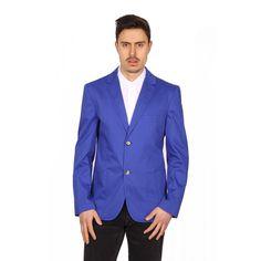 Marc Jacobs Men's Blazer BLUE #MARCJACOBS #TwoButton