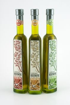 Cobram Estate Olive Oil by Kevin Beutelspacher, via Behance. love the kangaroo on the #packaging PD