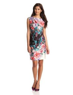 Suzi Chin Womens Side Drape Printed Sheath Dress, Ice Multi, 16 Suzi Chin,http://www.amazon.com/dp/B009MJQV6M/ref=cm_sw_r_pi_dp_1bUwrb8E19FE4089
