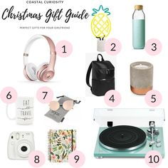 Coastal Curiosity Gift Guide – Gifts for your Girlfriend Gifts For Your Girlfriend, Your Girlfriends, Christmas Gift Guide, Christmas Gifts, Beautiful Girlfriend, Tis The Season, Curiosity, Special Gifts, Coastal