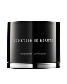 Le Metier de Beaute Replenishing Daily Solution: Soothe and tone complexion while benefiting from broad spectrum SPF 30 coverage.