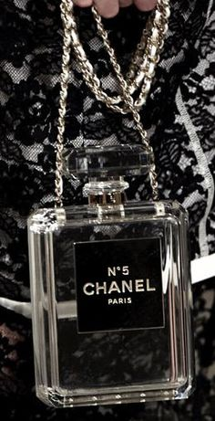 The Chanel No. 5 Perfume Bottle Clutch