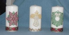 Lovely and Lacy Candles