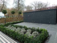 yellow-london-brick-wall-black-and-white-victorian-mosaic-topiary-yorkstone-peckham-bromley-kingston-bespoke-storage-hackney-islingto-brixton-1.jpg (2048×1536)