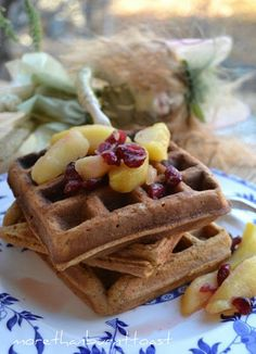 Gingerbread Waffles - for everyone who asked, this is the recipe I used for brunch this morning :)