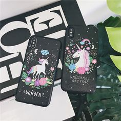 Cases, Covers & Skins Fashion Cartoon Unicorn Tpu Soft Phone Case Back Cover For Iphone Plus Cartoon Unicorn, Real Unicorn, Coque Smartphone, Coque Iphone, Iphone 6, Bff, Unicorn Phone Case, Modelos Iphone, Accessoires Iphone