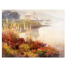 The Boathouse Canvas Art Print | Kirkland's
