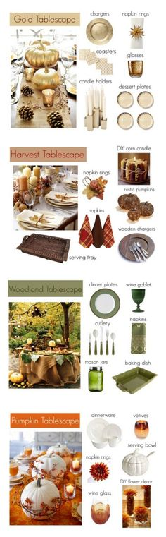 Thanksgiving Tablescapes & Decorating Tips