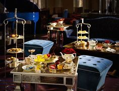 10 of the best places for afternoon tea in London Palm Court afternoon tea in London at The Langham on GlobalGrasshopper.com