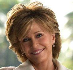 Spectacular Jane Fonda Hairstyles Curvy Waves
