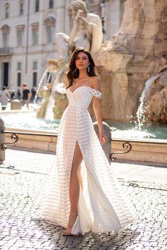 Evening Dresses, Prom Dresses, Formal Dresses, Wedding Dresses, Off Shoulder Gown, White Off Shoulder Dress, Satin Gown, Slit Dress, Formal Prom