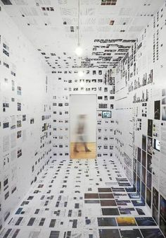 Inside Installations by Joris De Schepper and Thomas De Ridder at S.M.A.K - Museum of Modern Art in Ghent, designed to give visitors an idea of the museum's work behind-the-scenes. 2010 photography: julien lanoo