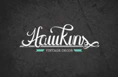 Custom Logo Design  Hand drawn Typographdy Fully by 47EightDesigns, $200.00