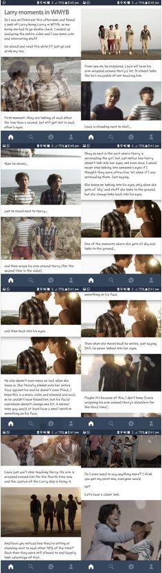 I analyzed the music video of WMYB... Didn't know I would see this much of Larry. PART 1