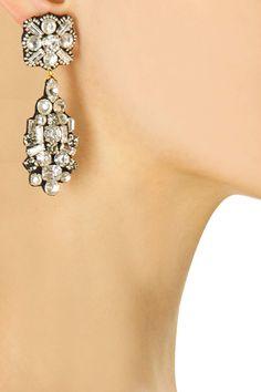 Louise earrings by Preeti Mcconkey. Shop now: http://www.perniaspopupshop.com/designers/preeti-mcconkey #earrings #preetimcconkey #shopnow #perniaspopupshop