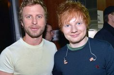 Dierks Bently and Ed Sheran -2013 Grammys