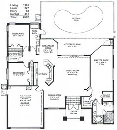 Home Plans On Pinterest House Plans Floor Plans And Open Floor