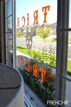 easy halloween window cling - Window Clings Halloween