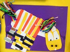 COLOR for EVERYONE: Kindergarten Pattern Zebras