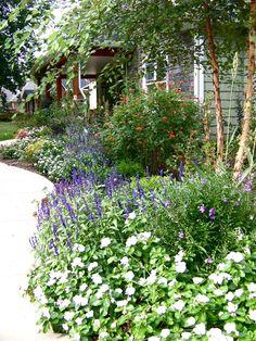 Cottage Gardens eclectic landscape