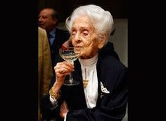 Rita Levi Montalcini, a Nobel Prize-winning scientist, said Saturday that even though she is about to turn 100, her mind is sharper than it was she when she was 20.