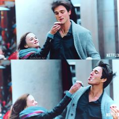#thekissingbooth2 High School Musical, Relationship Goals Pictures, Cute Relationships, Cute Couples Goals, Couple Goals, Los Kiss, Romantic Movies On Netflix, Noah Flynn, Joey King