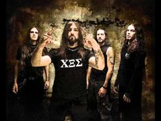 Rotting Christ are THE ultimate description of Heavy music.melancholic with cultural and spiritual tones. Hard Music, 6 Music, Music Songs, Rotting Christ, Flame Hair, Summer Breeze, Death Metal, Metal Bands, Black Metal