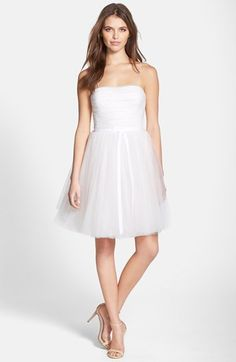 CeCe by Cynthia Steffe Tulle Fit & Flare Dress | Nordstrom