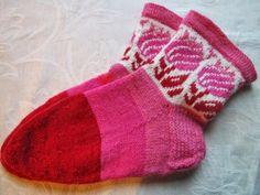 puuhastellen arjen hallintaa ...: Roosa nauha- sukat
