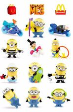 2017 McDonalds Minions Toys Canadian Edition - Entire set of 12
