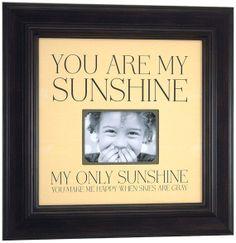 Baby Shower Decoration YOU ARE MY SUNSHiNE By PhotoFrameOriginals 8900 Sunshine Birthday Parties 1st