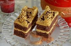 Reteta culinara Prajitura cu cafea din categoria Prajituri. Specific Romania. Cum sa faci Prajitura cu cafea Sweet Desserts, No Bake Desserts, Vegan Desserts, Romanian Desserts, Romanian Food, Coffee Buttercream, Buttercream Cake, Macedonian Food, Food Tags
