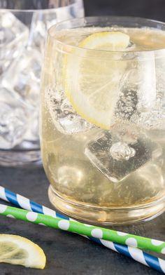 Vodka and Elderflower Lemonade
