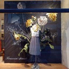 Anthropologie, Rockefeller Center New York Visual Merchandising Displays, Visual Display, Display Design, Store Design, Anthropologie Display, Store Window Displays, Display Windows, Retail Displays, Shop Windows