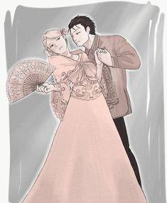 Roy Mustang & Riza Hawkeye Screenshots and more. Philippine Mythology, Philippine Art, Filipino Art, Filipino Culture, Anime People Drawings, Drawing People, Pretty Art, Cute Art, Filipino Wedding