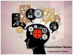 96 best education powerpoint templates and backgrounds images on education cognitive mental processes powerpoint template is one of the best powerpoint templates by editabletemplates toneelgroepblik Choice Image