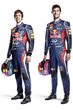 Red Bull Renault F1 Racing Team 2012 pilotos