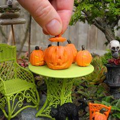 Halloween in the Miniature Garden with Janit Calvo