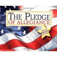 pledge of allegiance book/craft for kids