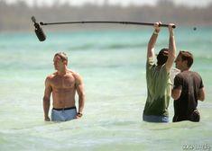 Daniel Craig Films 'Casino Royale' Wearing Iconic Bathing Suit Daniel Craig Action