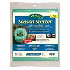 Gardeneer Dalen Products Season Starter Early Season Plant Protector (3 pack)-PIN-9 at The Home Depot