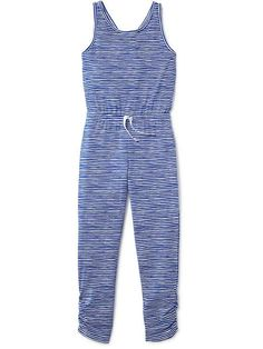 Striped Jumpsuit for Girls
