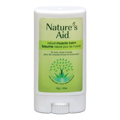 I'd love to try @Natures_Aid muscle balm to relieve my soreness. Get your FREE sample via @socialnature