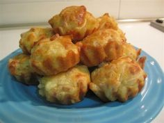 Muffin salati con cipolle e pancetta