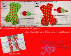 Legwarmers Headbands Photography Props at Agape Stop Boutique https://www.facebook.com/agapestopboutique?ref=hl