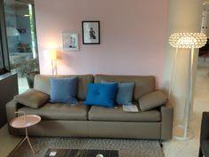 Sofa#Conseta#Leder#Wohnen#Quadrat Sofas, Designer, Couch, Furniture, Home Decor, Armchair, Leather, Homes, Nice Asses