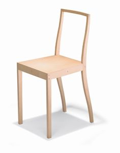 Jasper Morrison, Plywood Chair. 1988. Made by Vitra. Sketch,...