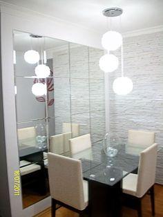 Espelho na sala Jantar